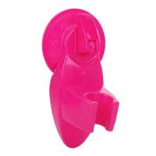 Acamifashion Universal Showering Components Adjustable Shower Arm Bathroom Handheld Showerhead Adjustable Bracket - Rose Red