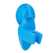 TRENTON New Shower Room Bathroom Suction Type Chuck Holder Fixed Wall Mount Bracket - Blue