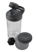 Contigo Shake and Go Fit Compartment Protein Shaker with Special Mixing Ball