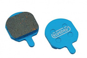 Elvedes Disc Brake Pads Organic Per Pair Fits Hayes Sole, Mx-2, Mx-3, Mx-4, Gx-2/Promax Dsk810 - Multicoloured