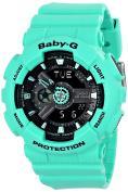 Casio Women's BA-111-3ACR Baby-G Analogue-Digital Display Quartz Green Watch