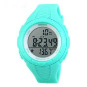 SKMEI 1108 Japanese-quartz LED Display 50M Waterproof Sports Multifunction Pedometer Watch