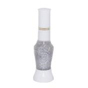 Nail Star 2-Way Nail Art Pen Glitters, Silver 12 ml