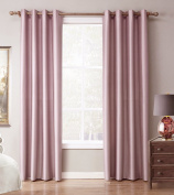 Yiyida Luxury Thermal Blackout Curtains 140cm x 220cm 2 Panels Ready Haning with Eyelet Rings