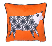 Ulster Weavers - Curious Cows Cushion