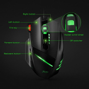 [7 RGB Modes, 7200 DPI]Wired Gaming Mouse, VicTsing Wired PC Mouse Laptop Mouse with 5 Million Times Button Life, 6 Adjustable DPI Levels, 7 Programmable Buttons, 7 Soothing LED Colours for Pro Gamer, Notebook, PC, Laptop, Computer