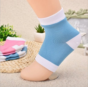 Demarkt Heel Protection Socks - Relieves Pain by Reducing Friction Over the Heel - (1 x Pair) Heel Instep Ankle Support Sock