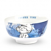 Egan Case Smurf Tollpatsch Blue Cereal Bowl 600 ml