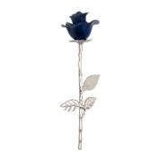 Blue Rose Stem Urn for Keepsake Ashes