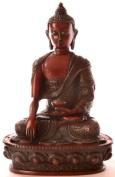 Buddha Statue - Buddha Resin Shakyamuni Character 19 cm Auburn