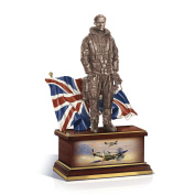 Battle Of Britain 'The Few' Airman Handsculpted Figurine, Featuring Churchill's Famed Quote And Officially Endorsed By The Lest We Forget Association Exclusively Available From The Bradford Exchange