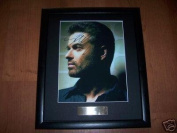 George Michael Framed Autograph Photo Music Memorabilia