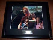 Paul Weller The Jam Framed Autograph Photo Music Memorabilia