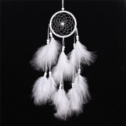 55cm Dreamcatcher Gift Handmade Dream Catcher Net With Feathers Wall Hanging Decoration Ornament
