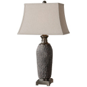 Uttermost 26442 Tricarico Textured Lamp