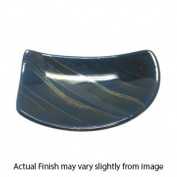 Fire Glazed Soap Dish and Tumbler - Blue Tones
