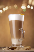 Set of 2 Pasabahce Colombian 55861 Tea Latte Glass with Handle - RAYANDIRECT