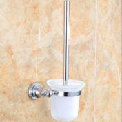 LINA-Contemporary copper chrome minimalist towel bar bathroom set , 1