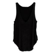 Kemilove Fashion Summer Woman Lady Sleeveless V-Neck Candy Vest Loose Tank Tops T-shirt