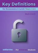 Key Definitions for Economics A Level