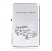 Land Rover Discovery Design - Personalised STAR Windproof Petrol Lighter