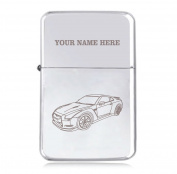 fits Nissan GTR Design - Personalised STAR Windproof Petrol Lighter