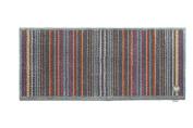 Hug Rug Dirt Trapper Door Mat Runner 65 x 150cm - Slate Grey Designer 13