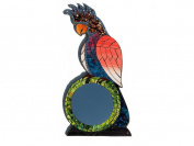 Fair Trade Hand Crafted Cockatoo Shaped Mirror