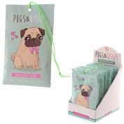 Small Peach Scented Sachet 10g Pugs & Kisses Range Pug Dog Home Fragrance
