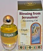 Anointing Oil Elijah 0.34oz From Holyland Jerusalem