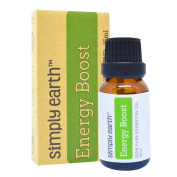 Energy Boost Essential Oil Blend by Simply Earth - 15ml, 100% Pure Therapeutic Grade