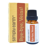 Bye-Bye Veins Essential Oil Blend by Simply Earth - 15ml, 100% Pure Therapeutic Grade