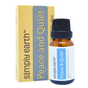 Peace & Quiet Essential Oil Blend by Simply Earth - 15ml, 100% Pure Therapeutic Grade