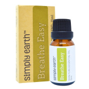 Breathe Easy Essential Oil Blend by Simply Earth - 15ml, 100% Pure Therapeutic Grade