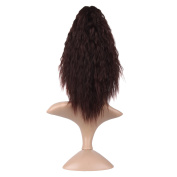 """MapofBeauty 16""""/40cm Waves Curly Medium Length Claw Ponytail"""