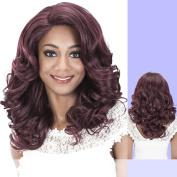 JAX (Vivica A. Fox) - Heat Resistant Fibre Lace Front Wig in DARK BROWN