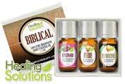 Biblical Set 100% Pure Therapeutic Grade Aromatherapy Essential Oil Gift