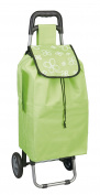 Metaltex 415205125 Shopping Trolley Daphne Roller Case, 88 cm, 40 Litres, Green