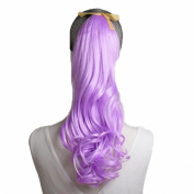 MapofBeauty 2 Pack Curly Ponytail Long Wavy Hair Fashion Hair Accessorie
