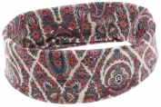 Capelli New York Ladies Floral Print Tubular Head Wrap Mauve One Size