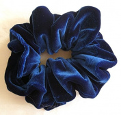 Royal Blue Velvet Scrunchies-Regular