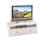 Provence 3 TV / Entertainment Unit Solid Wood White