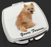 """Cairn Terrier Dog """"Yours Forever..."""" Make-Up Compact Mirror Stocking Filler Gift"""