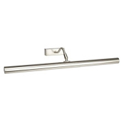 Large Modern Picture Light in Brushed Chrome Complete with Halogen Bulbs - LED Compatible