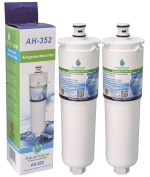 2x AH-352A Compatible for Abode water filter AT2002 Safelock, fits Abode Aquifier filter taps