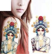 Temporary Tattoos Beauty Girl Body Art Women Tattoo Sticker Fake Tatoo
