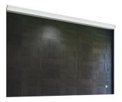 Nezza NLM-005-036 Saga Contemporary Illuminated LED Bathroom Mirror, 90cm