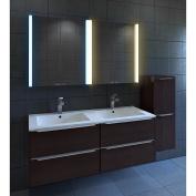 Nezza NLM-011-025 Diva Contemporary Illuminated LED Bathroom Medicine Cabinet Mirror, 60cm
