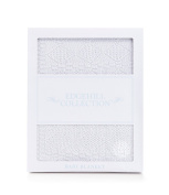 Edgehill Collection - Knit Patchwork Blanket - White - Baptism