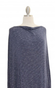 Covered Goods multi-use nursing cover - Navy and Ivory Pinstripe